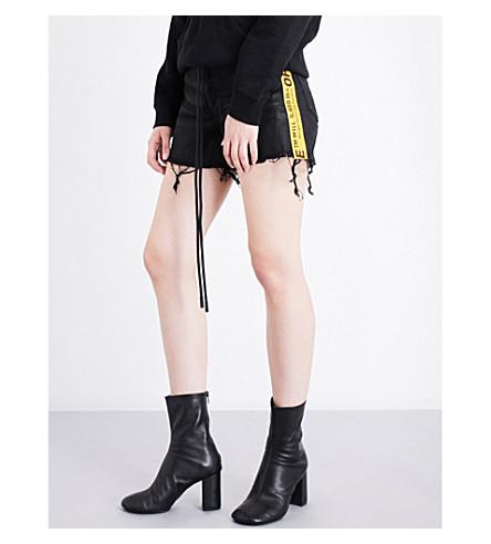 OFF-WHITE C O VIRGIL ABLOH - Panel-detailed stretch-cotton shorts ... 3dcf82d53