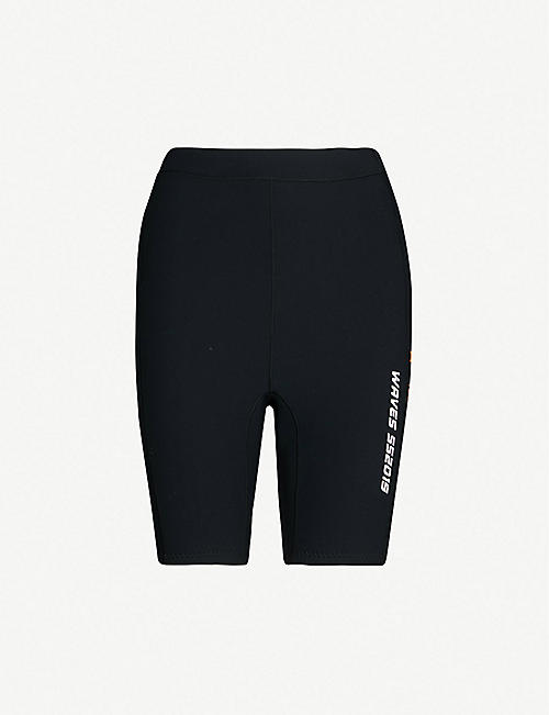 AMBUSH Mid-rise neoprene shorts