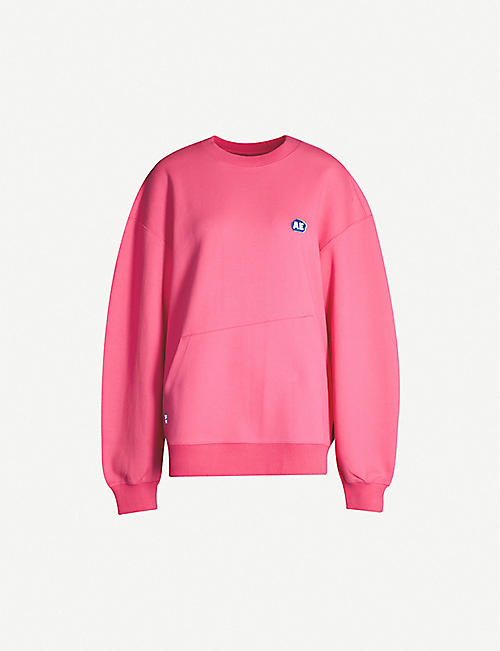ADER ERROR Logo-embroidered cotton-blend sweatshirt