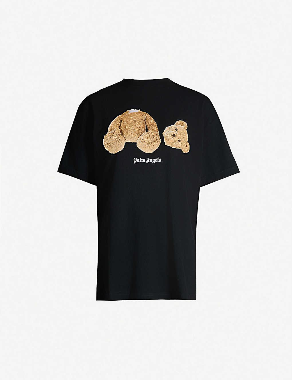 aa54849eea0 PALM ANGELS - Kill The Bear boy-fit cotton-jersey T-shirt | Selfridges.com