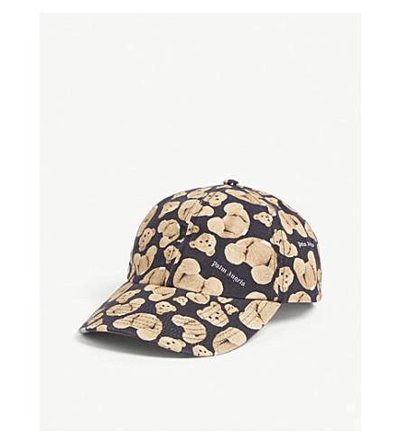 Palm Angels Accessories Kill the Bear cotton cap