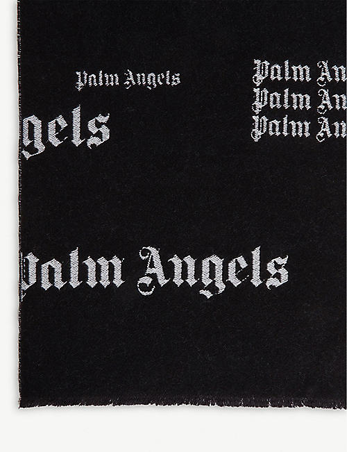 PALM ANGELS Logo scarf