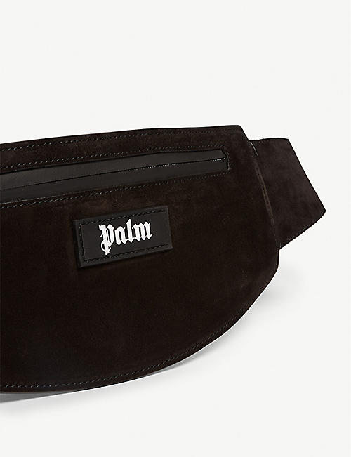 PALM ANGELS Suede beltbag
