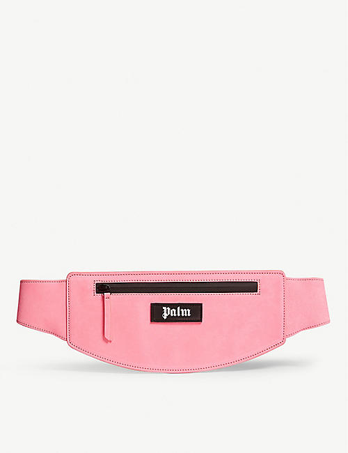 PALM ANGELS Suede belt bag