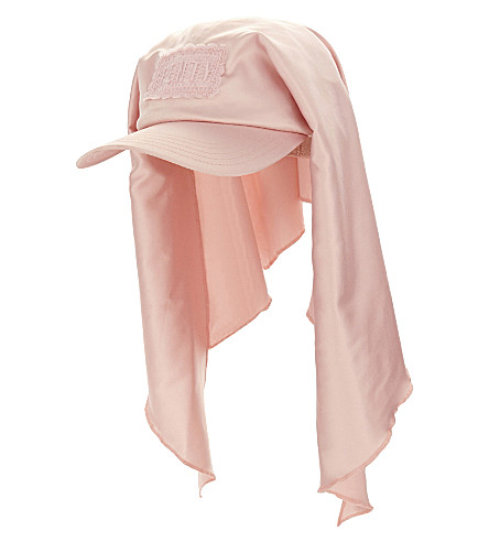 Fenty X Puma Satin Bandana Cap In Pink Tint  de23961977e