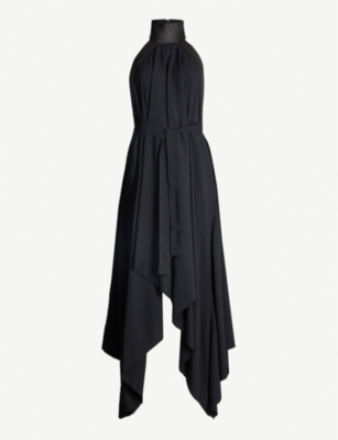 GARETH PUGH Open-back woven maxi dress