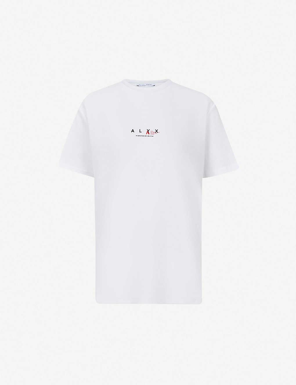 b925af97 1017 ALYX 9SM - Logo-print cotton-blend T-shirt | Selfridges.com