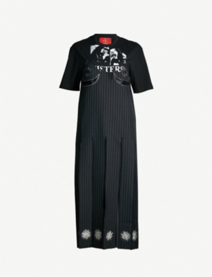 DILARA FINDIKOGLU Sisters cotton midi dress