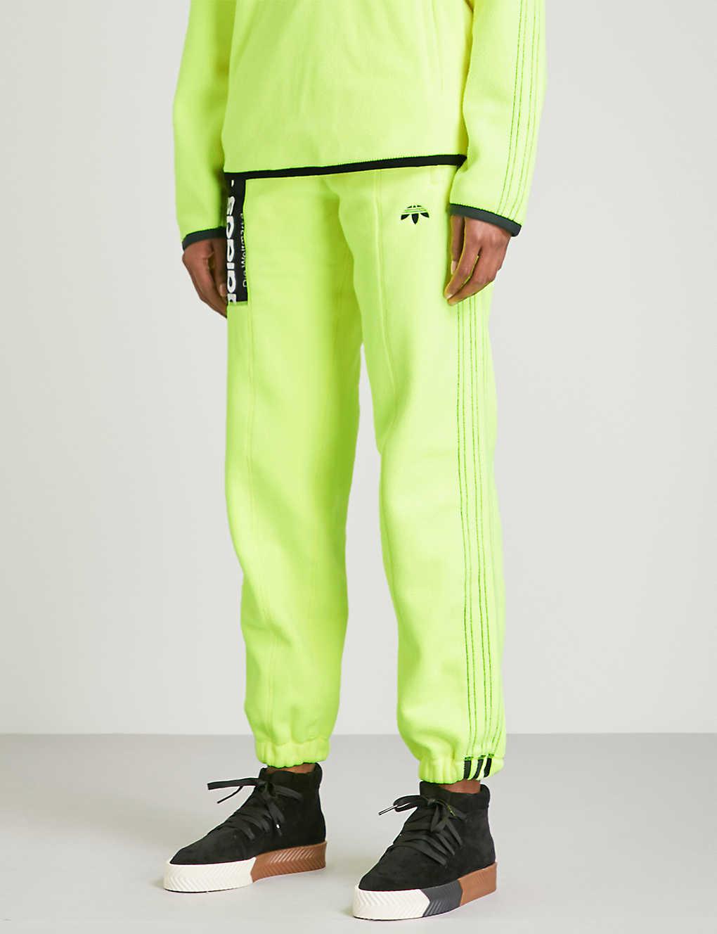 82337df18fa113 ADIDAS X ALEXANDER WANG - Polar fleece jogging bottoms