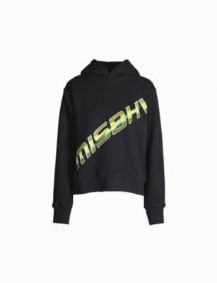 MISBHV Graphic logo-print cotton-blend hoody