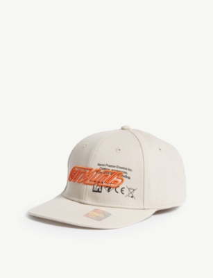 HERON PRESTON Logo cotton cap