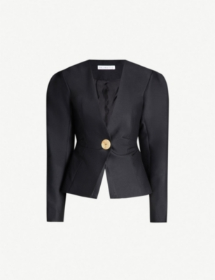 REJINA PYO Peyton wool and silk-blend jacket