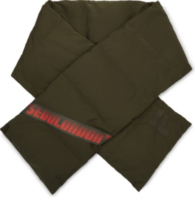 D-ANTIDOTE Quilted down scarf