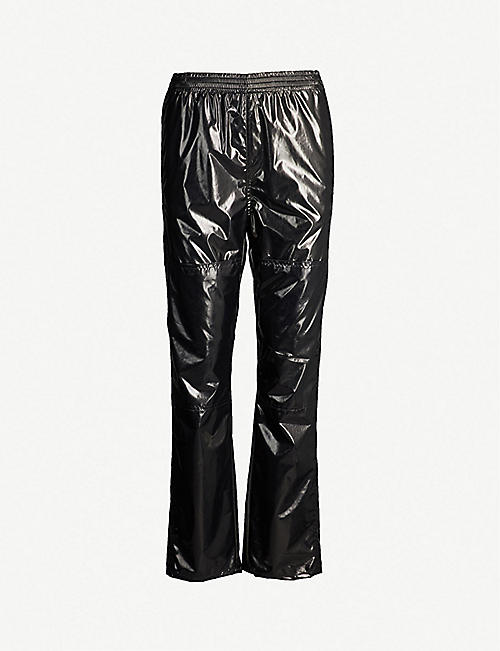 481f57c8 MM6 MAISON MARGIELA Elasticated-waist shell trousers