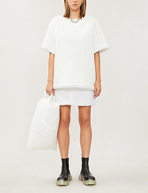 MM6 MAISON MARGIELA Logoed cotton-blend T-shirt