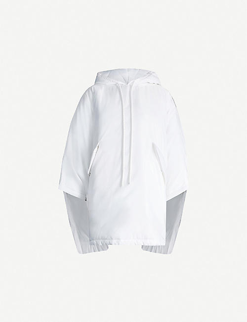 MM6 MAISON MARGIELA Oversized padded satin-twill hoody