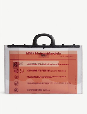 MM6 MAISON MARGIELA Branded PVC document bag