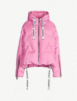 KHRISJOY Khris oversized shell-down puffer jacket
