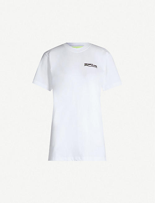 8d36c2d616ad5e STUDIO ALCH Logo-print cotton-jersey T-shirt