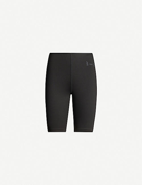 ARTICA ARBOX Logo-print stretch-woven bike shorts
