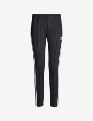 ADIDAS ORIGINALS SST 3-Stripe jersey jogging bottoms