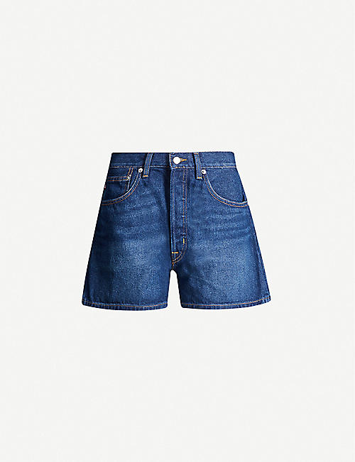 POLO RALPH LAUREN High-rise denim shorts