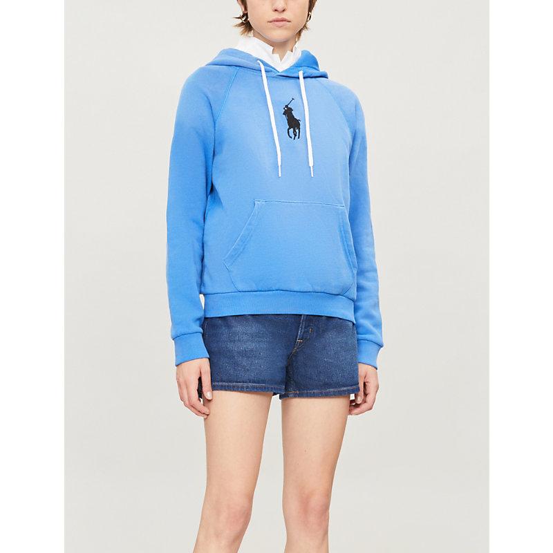 Polo Ralph Lauren Shorts HIGH-RISE DENIM SHORTS