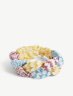 MISSONI Ondina plait headband