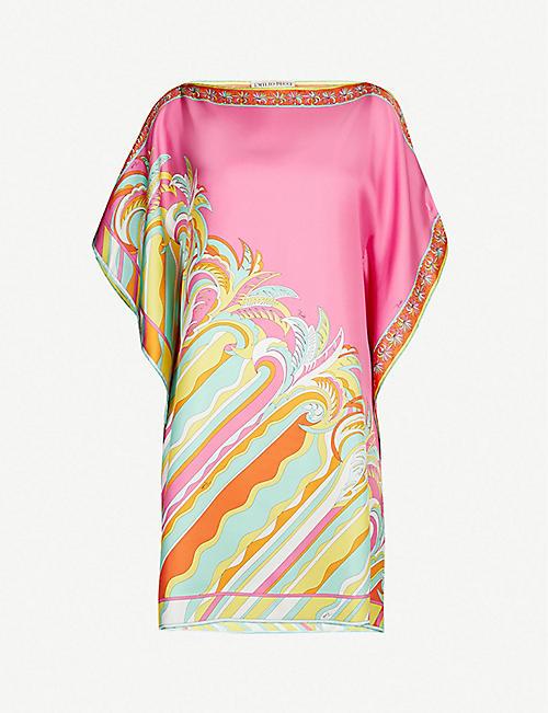 EMILIO PUCCI Signature-print silk-crepe dress. Quick view Wish list 825464e0d