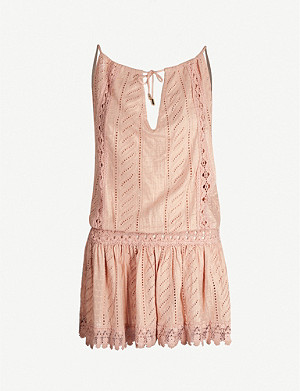 MELISSA ODABASH Chelsea cotton beach dress