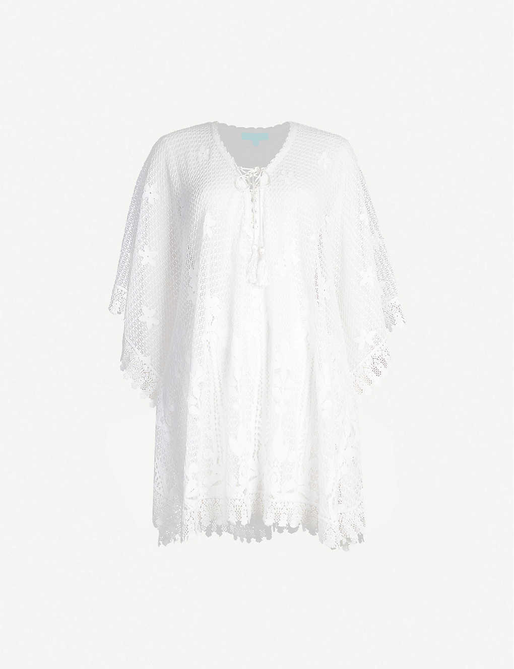 MELISSA ODABASH: Cindy cotton-blend kaftan