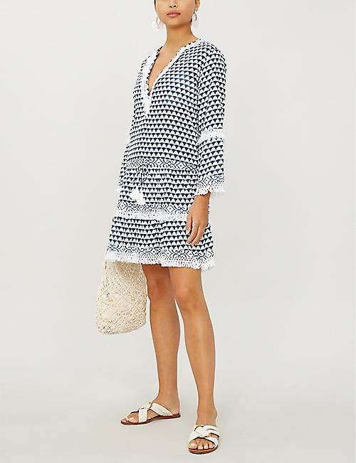 MELISSA ODABASH Claudia cotton dress