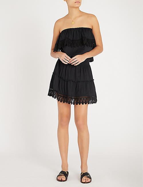 MELISSA ODABASH Joy poplin dress