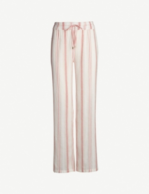 MELISSA ODABASH Krissy cotton trousers
