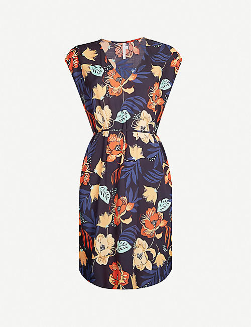 SEAFOLLY On Vacation floral-print woven dress