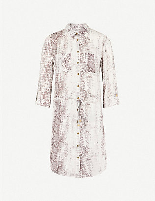 HEIDI KLEIN: Alhambra woven shirt dress
