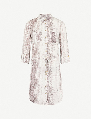 HEIDI KLEIN Alhambra woven shirt dress