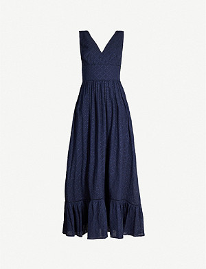 HEIDI KLEIN New Haven cotton maxi dress