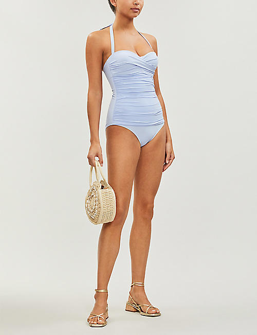 HEIDI KLEIN Body Light ruched bandeau swimsuit