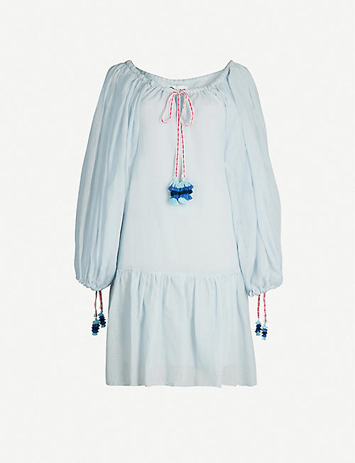 PITUSA Pea cotton-voile dress