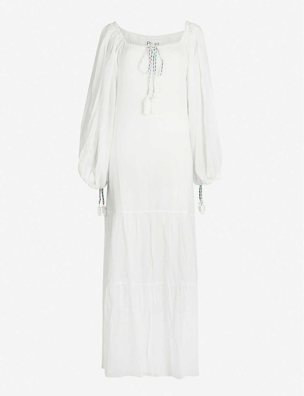 PITUSA: Pea cotton-voile dress