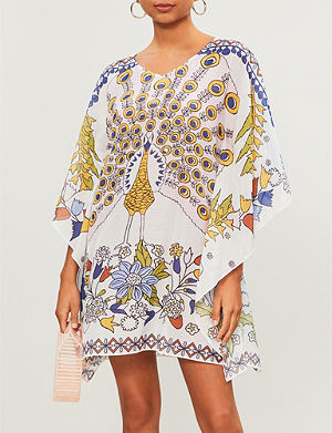 b871715a1bea1 TORY BURCH - Tie-dye Balloon cotton kaftan | Selfridges.com
