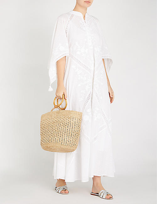 TORY BURCH Michaela cotton kaftan