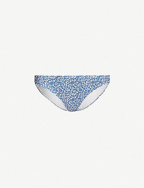 870e3e2883 TORY BURCH Baroque-print high-rise bikini bottoms
