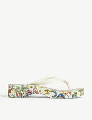 TORY BURCH Promised Land wedge flip-flop
