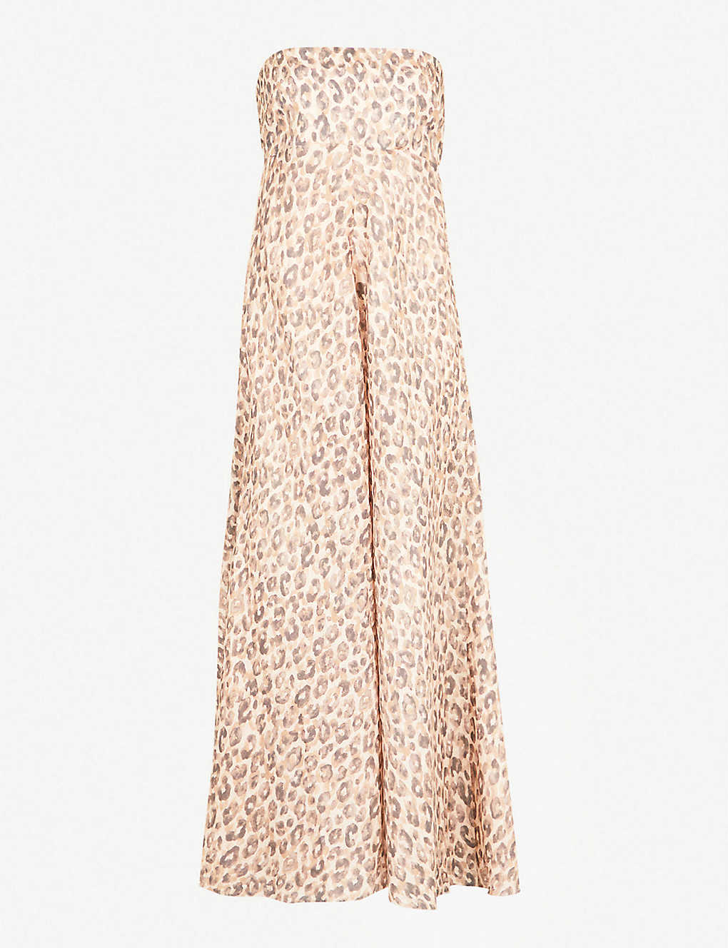 98765143dd ZIMMERMANN - Melody leopard-print linen midi dress   Selfridges.com