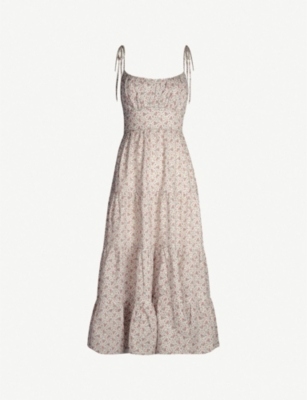 ZIMMERMANN Heathers floral-print linen midi dress