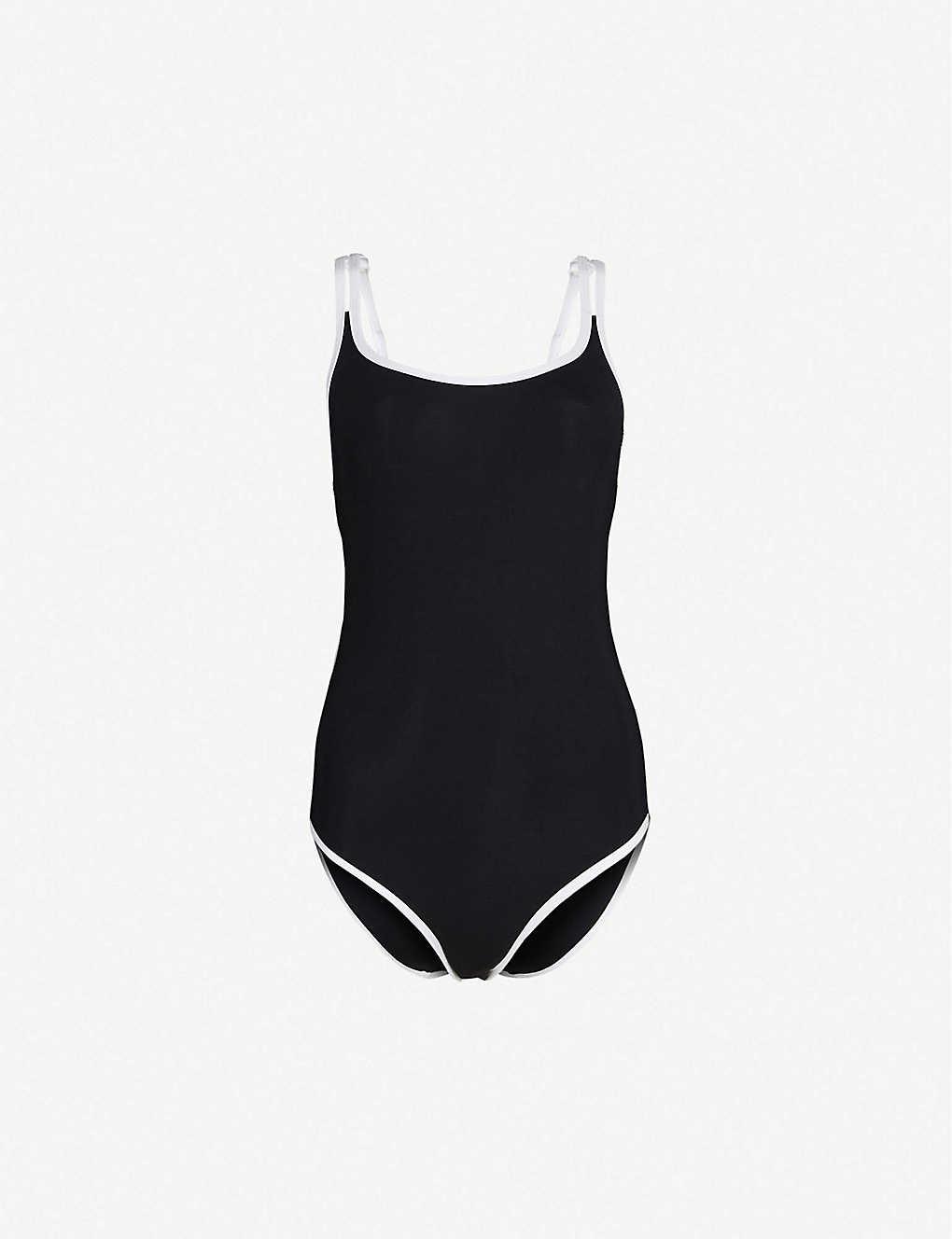 38efa5b9a4 JETS BY JESSIKA ALLEN - Double-strap scoop-neck swimsuit ...