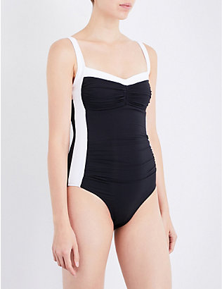 JETS BY JESSIKA ALLEN: Classique Banded swimsuit