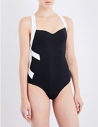 JETS BY JESSIKA ALLEN: Classique Low Back swimsuit